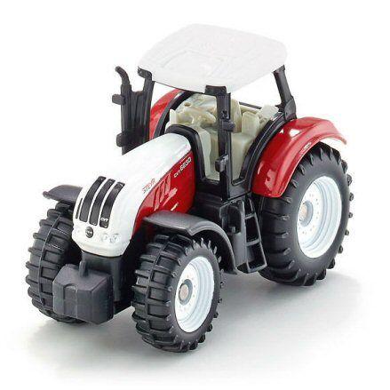 Siku 1382 Steyr CVT 6230 Tractor, front view