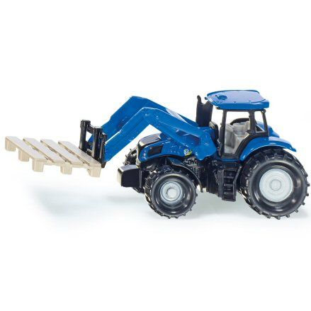 Siku 1487: New Holland T8.390 Tractor, Pallet Fork