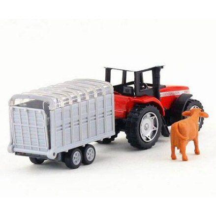 Siku 1640 Massey Ferguson 9240 Tractor, right side view