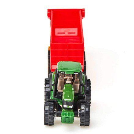 Siku 1650 John Deere 7530 Tractor, front view