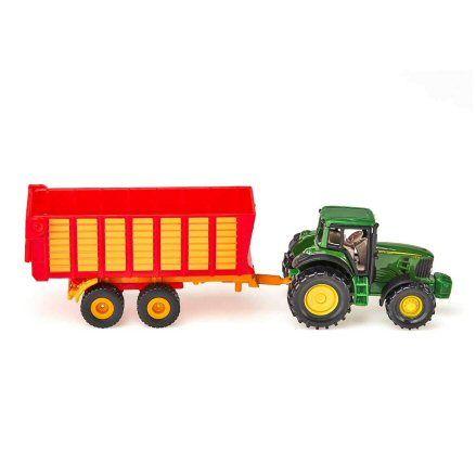 Siku 1650 John Deere 7530 Tractor, right side