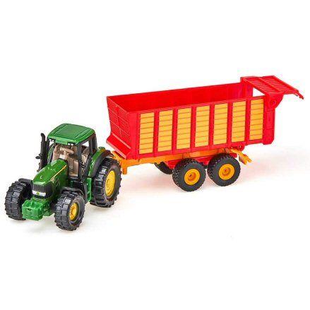 Siku 1650 John Deere 7530 Tractor, turning