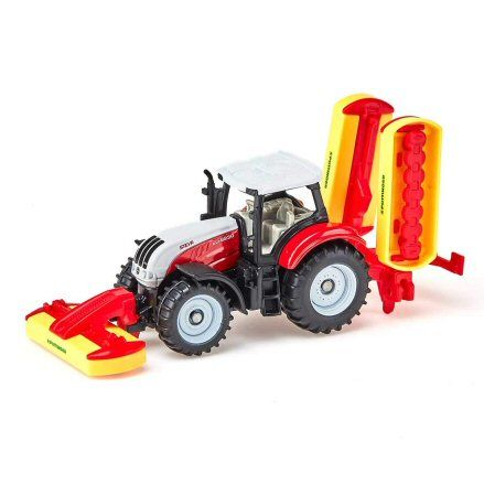 Siku 1672: Steyr CVT 6230 Tractor, left side