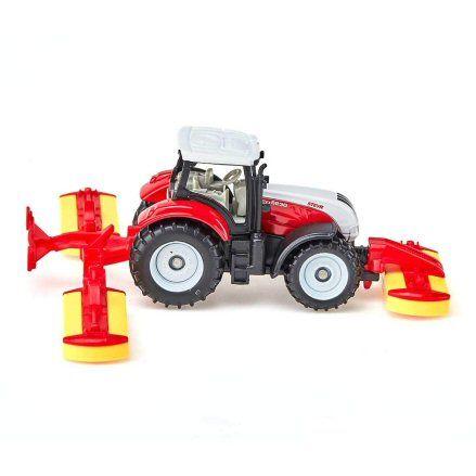 Siku 1672: Steyr CVT 6230 Tractor, right side