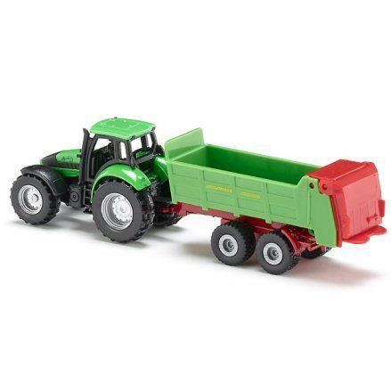 Siku 1673 Deutz Fahr Agrotron 265 Tractor, left side