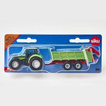 Siku 1673 Deutz Fahr Agrotron 265 Tractor, packet