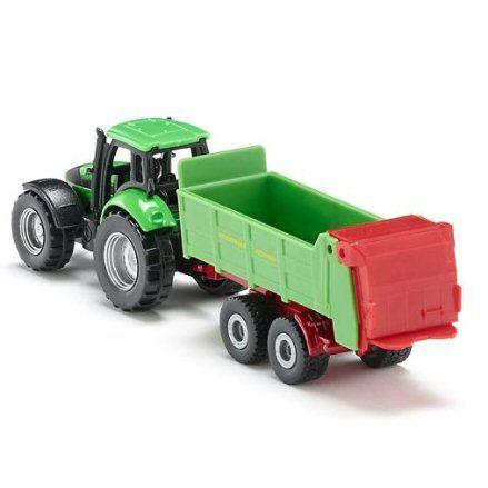 Siku 1673 Deutz Fahr Agrotron 265 Tractor, rear view