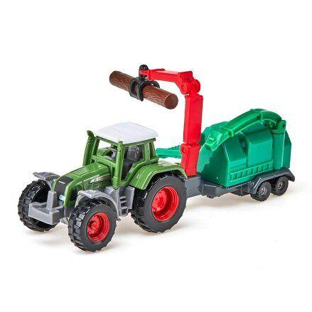 Siku 1675 Fendt Favorit 926 Tractor, grabber attachment