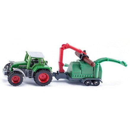 Siku 1675: Fendt Favorit 926 Tractor, JENZ Wood Chipper