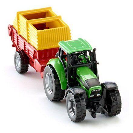 Siku 1676 Deutz Fahr Agrotron 256 Tractor, front view