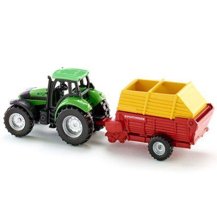 Siku 1676 Deutz Fahr Agrotron 256 Tractor, left side
