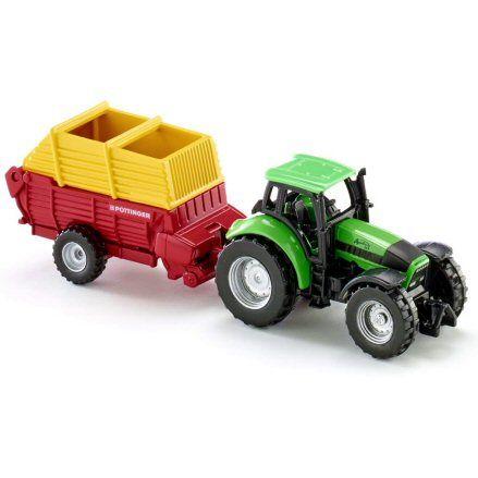 Siku 1676 Deutz Fahr Agrotron 256 Tractor, right side