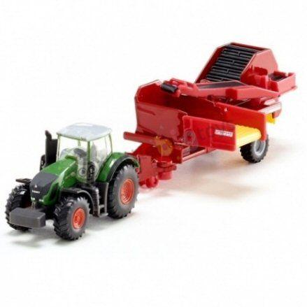 Siku 1808 Fendt 939 Vario Tractor, left side view
