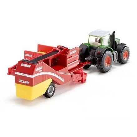 Siku 1808 Fendt 939 Vario Tractor, rear view