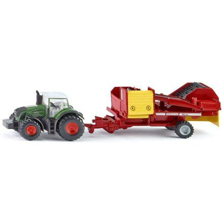 Siku 1808 Fendt 939 Vario Tractor, Grimme Potato Harvester