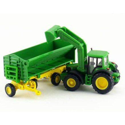 Siku 1843 John Deere 6920 S Tractor, loading up