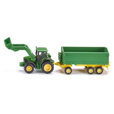 Siku 1843 John Deere 6920 S Tractor, Loader & Trailer