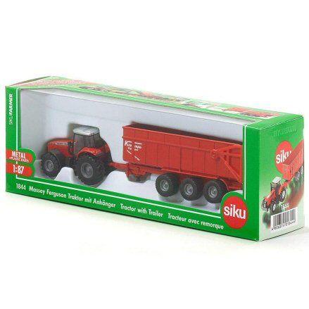 Siku 1844 Massey Ferguson 8480 Tractor, box