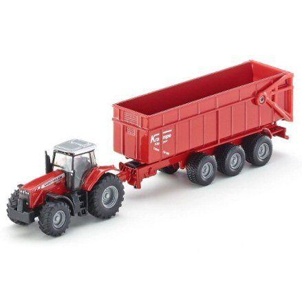 Siku 1844 Massey Ferguson 8480 Tractor, left side view