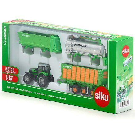 Siku 1848 Deutz Fahr Agrotron Tractor, box