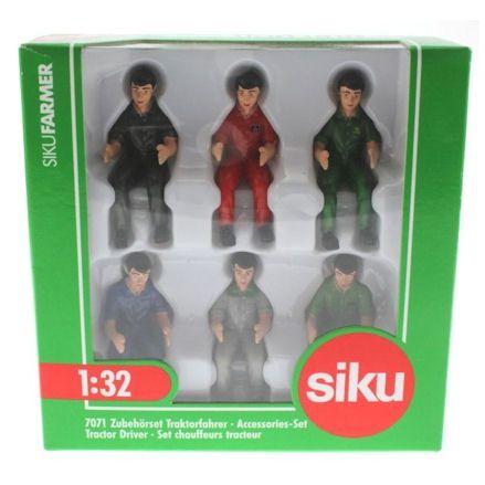 Siku 7071: Tractor Drivers, Boxed