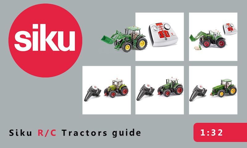 Siku R/C tractors: Getting started guide