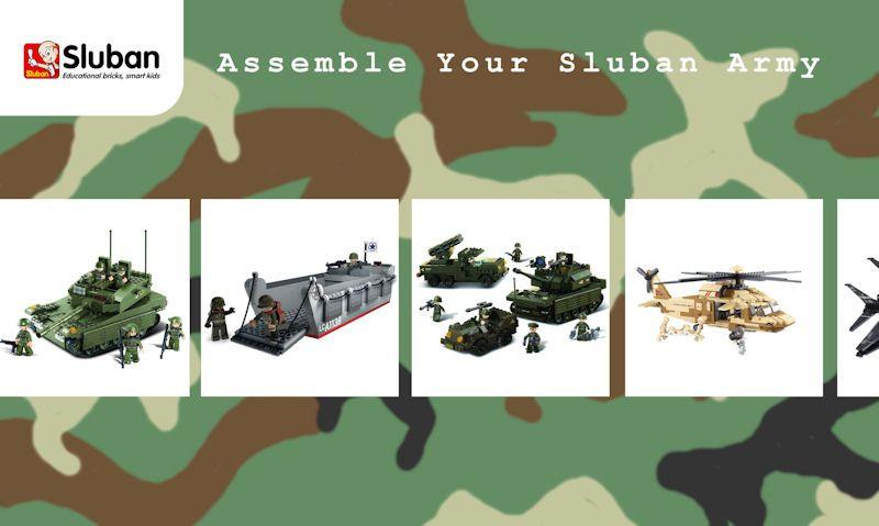 Assemble Your Sluban Army