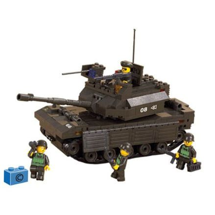 Sluban Army Leading Tank