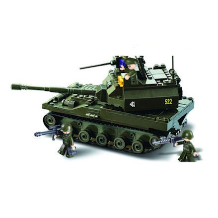Sluban K-9 Tank Set
