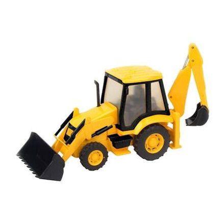 Teamsterz Construction Backhoe Loader<