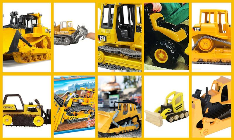 Top 10 toy dozer