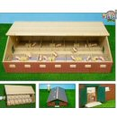 Kids Globe 1:32 Wooden Pig Shed